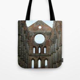 San Galgano Abbey Tote Bag