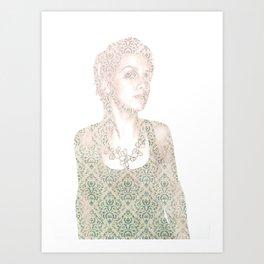 Wallfly Art Print