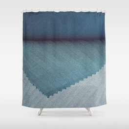 Blue cover Shower Curtain