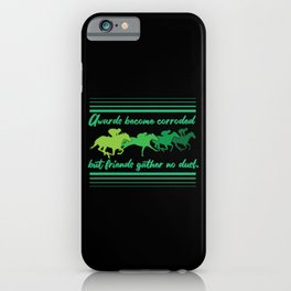 Horse Racing Design For Jockeys And Riders iPhone Case