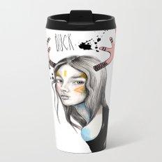 Buck (isolated) Metal Travel Mug