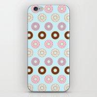 doughnut iPhone & iPod Skins featuring Doughnut Polka by Karolis Butenas