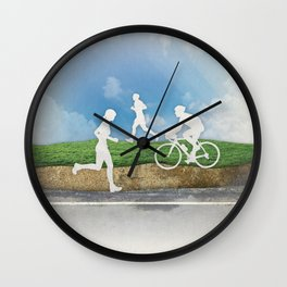 Get Outside Wall Clock