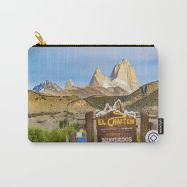 El Chalten Town Entrance, Patagonia - Argentina Carry-All Pouch