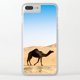 camels Clear iPhone Case