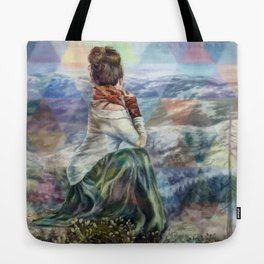 Sinew Moon Mountain Majesty Tote Bag