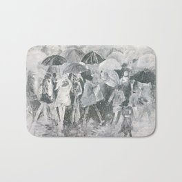 In the Rain Bath Mat