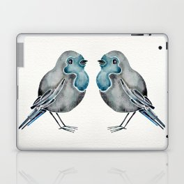 Little Blue Birds Laptop & iPad Skin