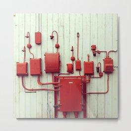 Red Things Metal Print