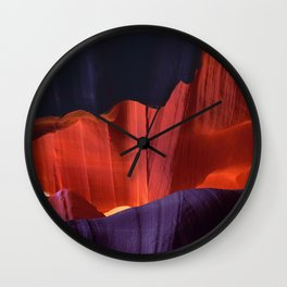Captivating Canyon Colorful Kalidescope Scenic View Wall Clock