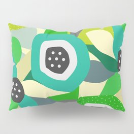 Bright tropical vibe Pillow Sham