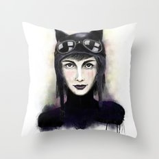 Catwoman #1 Throw Pillow
