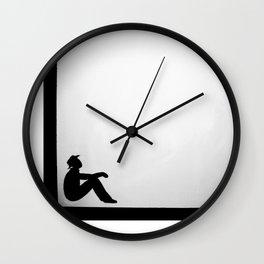 In the Fold Wall Clock