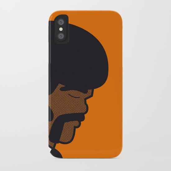 Pop Icon - Jules iPhone Case
