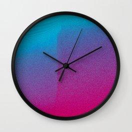 Pink Haze Wall Clock