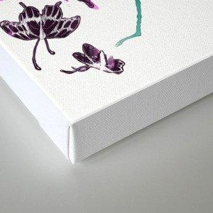 Follow the Colors Canvas Print