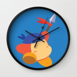 Bandana Dee (Blue) Wall Clock