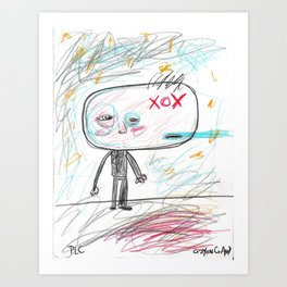 XOX Art Print