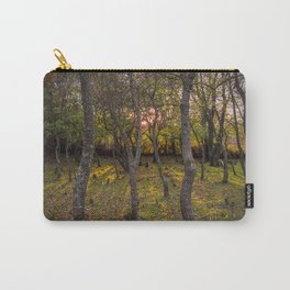 Forest, sunset, art photography at the bulgarian village Lisicite Carry-All Pouch