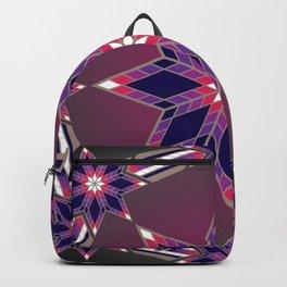 Morning Star Circle (Purple) Backpack