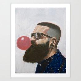 The Barber's Crew II Art Print
