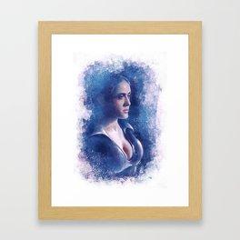 Behind the Ice Framed Art Print