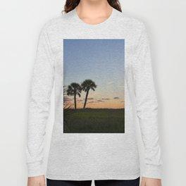 Sunset in Fort De Soto Long Sleeve T-shirt