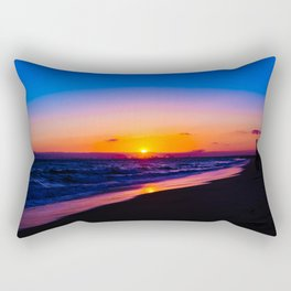 outstanding sunset Rectangular Pillow