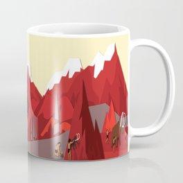 A Stone Age Landscape Coffee Mug