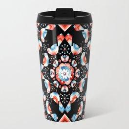 Lovebird Lattice Travel Mug