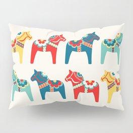Swedish Horses Pillow Sham