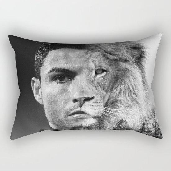 Cristiano Ronaldo Beast Mode Rectangular Pillow