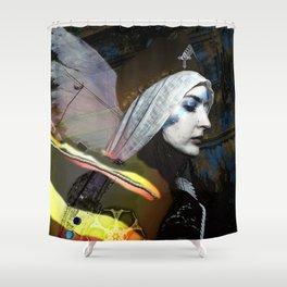 Saint Dymphna Reborn Shower Curtain