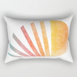 Raising sun (rainbow-ed) Rectangular Pillow