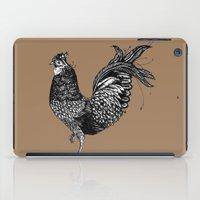 chicken iPad Cases featuring Chicken  by Aubree Eisenwinter