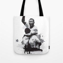 Pele Brazil Tote Bag