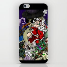 Sex, Drugs, and Candy Canes: The Santa Claus Story iPhone Skin