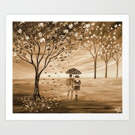 Couples in Love Art Print