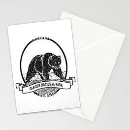 Glacier National Park Emblem Stationery Cards
