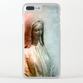 taking care Clear iPhone Case