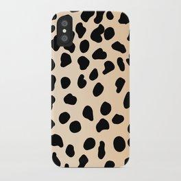Leopard animal print iPhone Case