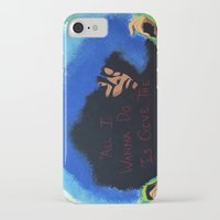 erykah badu iPhone & iPod Cases featuring Afro Blue: Erykah Badu by Artistik Rebel Creative