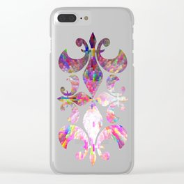Color Burst Clear iPhone Case