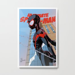 Ultimate Spider-Man Variant Edition Metal Print