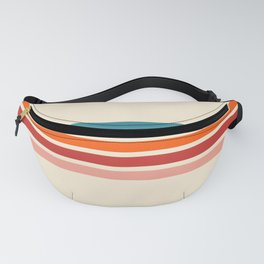 Rainbow Stripes II Fanny Pack