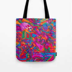 A Meaningful, Colorful, Exciting Life Tote Bag