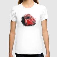 ferrari T-shirts featuring Ferrari F40 by an.artwrok