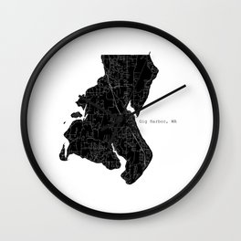 Gig Harbor, WA Wall Clock