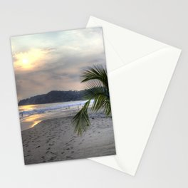 Costa Rica - Manuel Antonio Beach Sunset Stationery Cards