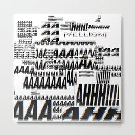 AAAh!!! Metal Print